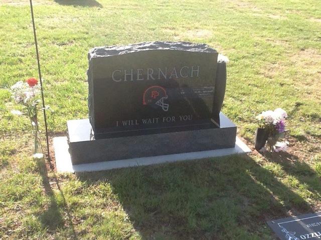 headstone back